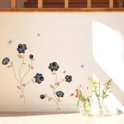 mustia kukkia