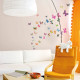 38 värikästä perhosta seinätarra 2