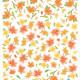 kevään kukkia seinätarra 3