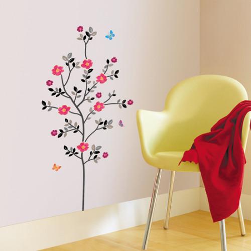 kevään taimi seinätarra