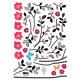 kevään taimi seinätarra 3