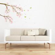 kirsikankukka seinätarra