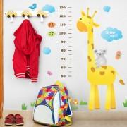 lasten kirahvi pituusmitta seinätarra