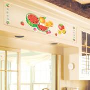 tuoreita hedelmiä seinätarra