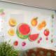 tuoreita hedelmiä seinätarra 5