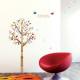 värikäs puu seinätarra 2