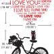 i love you sydän seinätarra 4