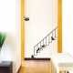 kissat portaissa seinätarra 2