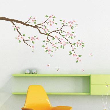 omenapuun oksa seinätarra