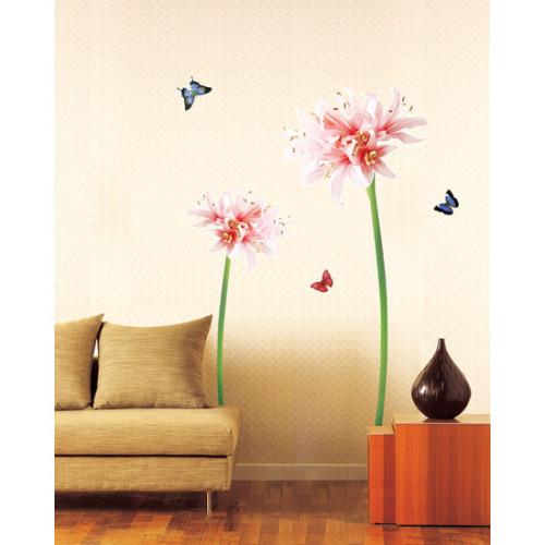 suuri lilja seinätarra