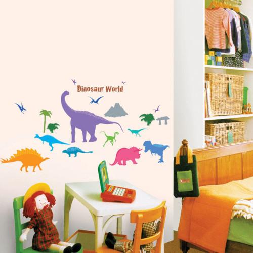 Dinosaurus Maailma Seinätarra
