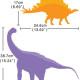 Dinosaurus Maailma Seinätarra 4