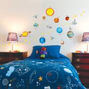 Planeetat Ja Avaruus Seinätarra